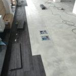 Polaganje tekstilnih plošč